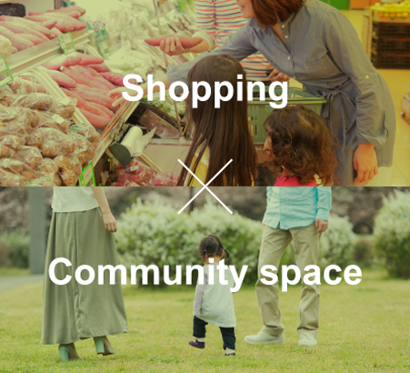 Shopping Community space